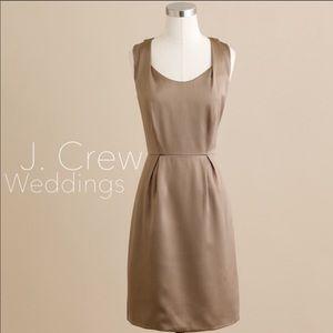 J. Crew Kendall Dress Bridesmaid size: 4  SILK